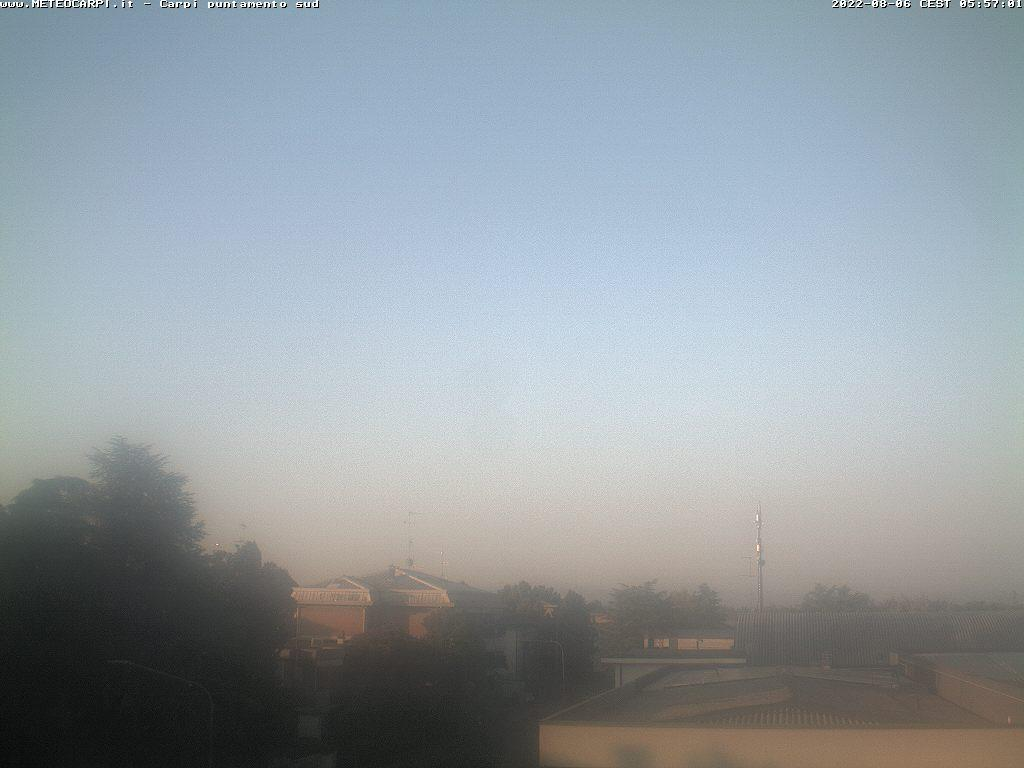 Osservatorio Carpi sud<br>Webcam<br>Loc. Quartirolo - Carpi (MO)