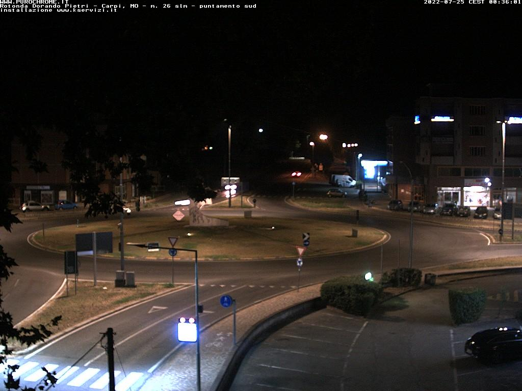 Osservatorio Carpi sud<br>Webcam puntamento sud<br> Carpi (MO)